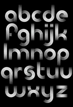 The Record Company Font by Patrick Seymour, via Behance