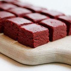 red velvet fudge. SHUT UP!