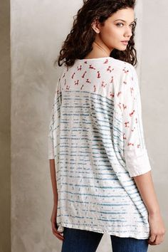 Edlin Dyed Tee - anthropologie.com #anthrofave