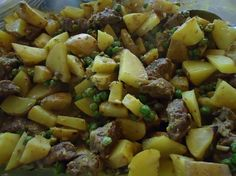 One dish meat and potato meal. I like easy meals like this that make the house smell good.