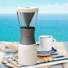 The convenient ASOBU Stainless Steel Cold Brew Coffee Maker lets you enjoy delicious homemade cold brew coffee in the comfort of your own home. This coffee maker features a unique cold brewing method with a long steeping time to ensure exceptional flavor. Great Coffee, Hot Coffee, Coffee Drinks, Coffee Cups, Garden Hammock, Hammock Chair, Apollo Box, Cold Brew Coffee Maker