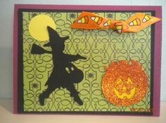Happy Halloween Stampin Up Cricut Card
