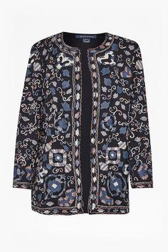 Ryo Embroidered Kimono | Coats & Jackets | French Connection Usa