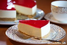 Panna Cotta, Cheesecake, Letter, Baking, Ethnic Recipes, Food, Dulce De Leche, Cheesecakes, Bakken