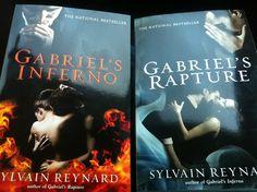Gabriel's Inferno and Gabriel's Rapture - amazing, intelligently written romance books by Sylvain Reynard.