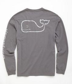Shop Long-Sleeve Vintage Graphic T-Shirt at vineyard vines size medium