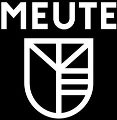 Meute a techno marching band group includes all the letters for their name in their logo What Is Design, Type Design, Icon Design, Graphic Design, Band Group, Concert Stage, Band Logos, Designer Wallpaper, Designs To Draw