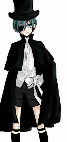 Ciel Phantomhive/kurohitsuji /  mi enanohive