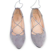 Leather Ballet Flats Shoes