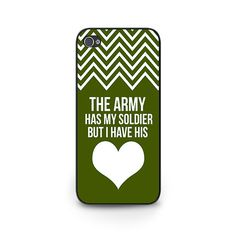 Army Girlfriend Phone Case - Army Deployment Gift - Army Girlfriend Samsung Galaxy s5 Case - Army Wife iPhone 5 Case
