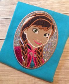 Frozen Princess Anna shirt by ahSEWcute on Etsy