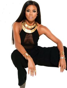 Gabrielle Union- Everything is perfect here! hair, makeup and clothes! And she, of course!!