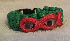 Ninja turtle paracord bracelet