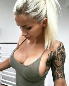 Sexy tattoos as well as beautiful breasts