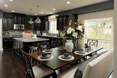 What a kitchen!! #ModelHome