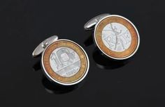 French Cuffs - France 10 Franc cufflinks -  Rare coins-Perfect gift - Includes presentation box - 100% satisfaction - 3 day delivery option by worldcoincufflinks on Etsy