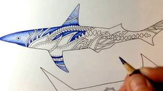 Colored by Julie Bouve - derwent coloursoft pencils - lost ocean - johan...