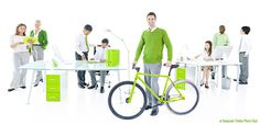 How To Make Your Office More Bike Friendly #csr #transportation