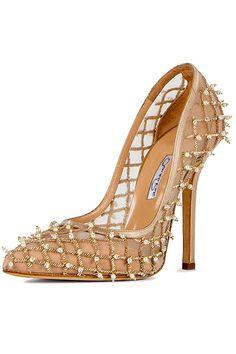 Oscar de la Renta - Shoes - 2014 Spring-Summer #shoes #beautyinthebag