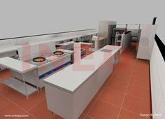 Commercial kitchen design