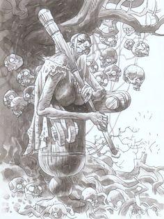 Hellboy Darkness Calls Baba Yaga Char Design.jpg (746×1000)