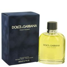 DOLCE & GABBANA by Dolce & Gabbana Eau De Toilette Spray 6.7 oz  #accessories #bagsaroma #perfume #men #cologne #women