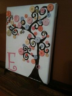 Button tree canvas