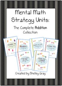 Teaching in the Early Years: Mental Math Addition Strategies