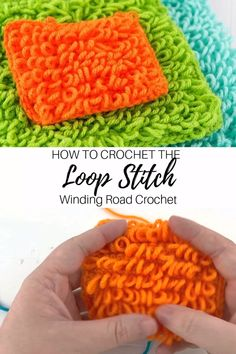 The loop stitch is a beautiful stitch that makes loops while you crochet. Use this video and photo tutorial to learn how to make this stitch. ideas for girls How to Crochet: Loop Stitch Video Tutorial Crochet Gifts, Crochet Doilies, Easy Crochet, Knit Crochet, Double Crochet, Crochet Beanie, Beanie Diy, Crochet Instructions, Tutorial Crochet