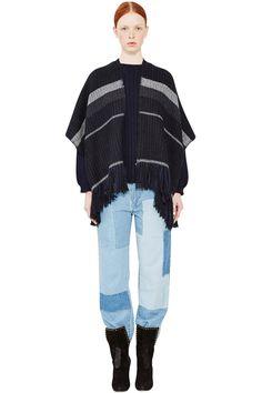 Blanket Stripe Jac Wrap