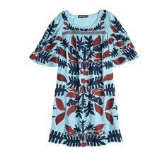 Aga Embroidered Cotton Dress | Calypso St. Barth
