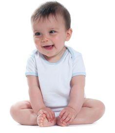 Larkwood Contrast Baby Bodysuit