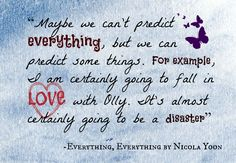 18 Best Everything, Everything || Nicola Yoon images in 2016