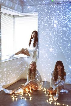 Girl's Generation • Seohyun, Tiffany & Taeyeon (TTS / TaeTiSeo)  ~ Dear Santa ~ Photoshoot ~