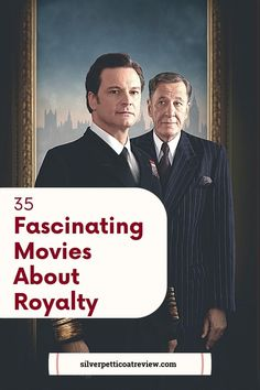 These are some of the best movies about royals. You'll want to add them to your watchlist. #moviesaboutroyalty #royalty #realliferoyals #historicaldramas #perioddramas #streaming #primevideo #netflix #streaming #colinfirthmovies #thekingsspeech #britishfilms British Drama Series, British Period Dramas, British Actors, The Young Victoria, Royal Films, Jane Austen Movies, Romantic Period, Catherine The Great, Period Movies