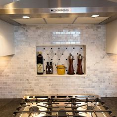 new overhead fan and stove in kitchen remodel Cabinet Companies, Custom Cabinets, Stove, Countertops, Kitchen Remodel, New Homes, Ceiling Lights, Flooring, Fan