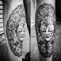Amazing #tattoo #art by  @michael.e.bennett ️ III