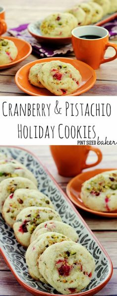 Yummy Sugar Cookies with Cranberries and Pistachios are a great way to enjoy a childhood favorite in an adult way.