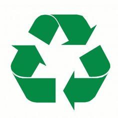 Recycle logo om na te maken