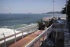 La construcción era parte de las obras para mejorar el transporte de Río de Janeiro, de cara a las Olimpíadas