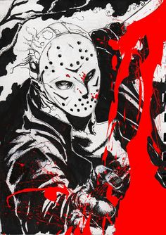 Jason Voorhees-Friday The13th........