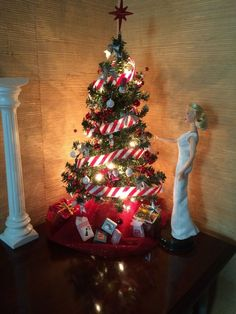 Barbie Decorated Christmas Tree 1 6 Scale | eBay