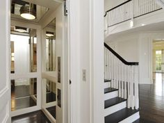 If your budget allows, a home elevator may allow you to stay in your dream home into your silver years...