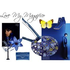 """Blue-tiful! My Magnifico"" by mymagnifico.com on Polyvore"