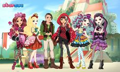 Happily Ever After High Characters