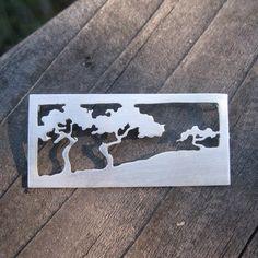 Sierra tree pendant by HelenODea