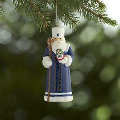 Around the World Santa Russia Ornament | Crate and Barrel