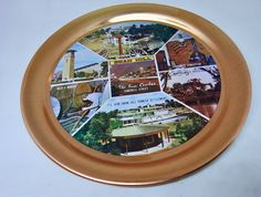 Vintage Souvenir of Swan Hill - Copper Anodised Aluminium Round Tray - Made in Japan by TheHungryWhippet on Etsy Murray River, Country Treasures, Aluminum Tray, Round Tray, Vintage Country, Whippet, Trays, Swan, Vintage Shops