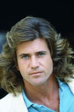 Mel Gibson the hair, the eyes!