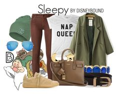 """""""Sleepy"""" by leslieakay ❤ liked on Polyvore featuring 7 For All Mankind, DC Shoes, Koral, Monet, New Look, Yves Saint Laurent, Isabel Marant, Erica Weiner, Ray-Ban and disney"""